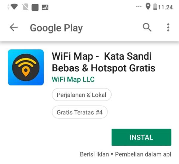 Install WiFi Map
