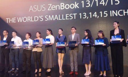 ASUS Luncurkan Seri ZenBook Terbaru yang Desainnya Setipis Kertas