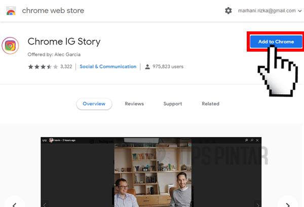 Cara Download Story IG Orang Lain