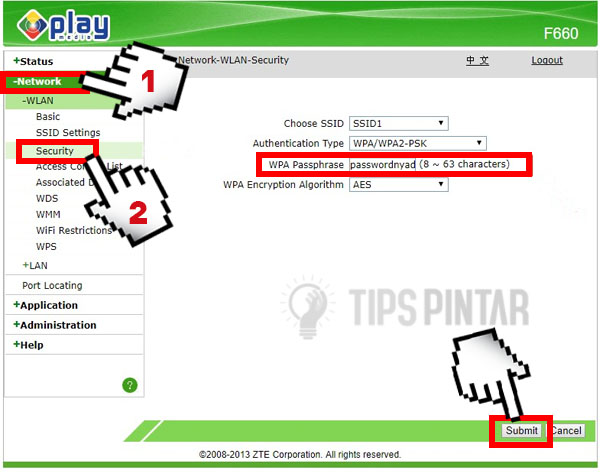 Cara Mengganti Password WiFi