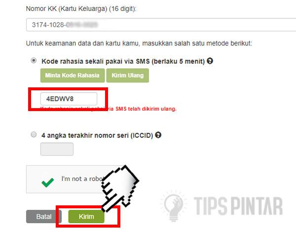 Cara Registrasi Kartu untuk Semua Operator