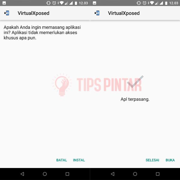 Install Aplikasi VirtualXposed