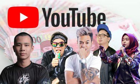 Gaji YouTuber Tertinggi