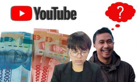 Gaji YouTuber Pemula