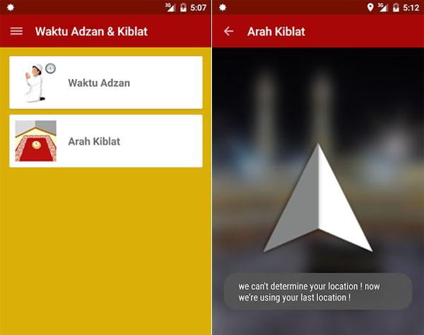 Aplikasi Penunjuk Arah Kiblat
