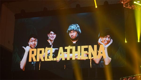 RRQ Athena Winner Winner Chicken Dinner