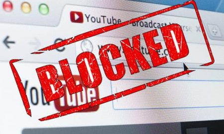 Negara yang Memblokir YouTube