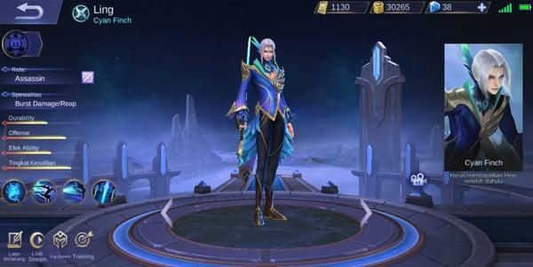 Ling Mobile Legends