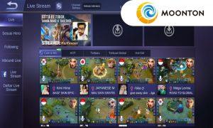 Peningkatan Fitur Live Stream
