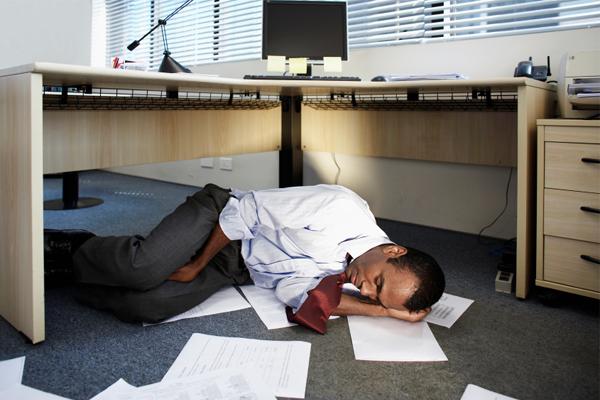 Tanda Tubuh Kelelahan dalam Bekerja