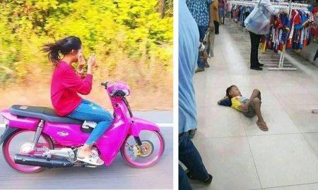 Foto yang Membuktikan Orang Indonesia Santuy