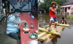 Kelakuan Terabsurd Orang Indonesia Saat Hujan