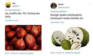 Pelesetan Nama Buah ala Anak Twitter