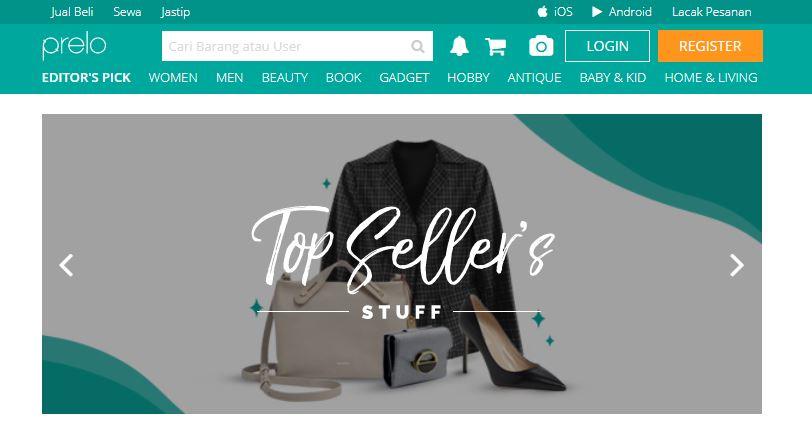 Situs untuk Menjual Barang Bekas Terbaik