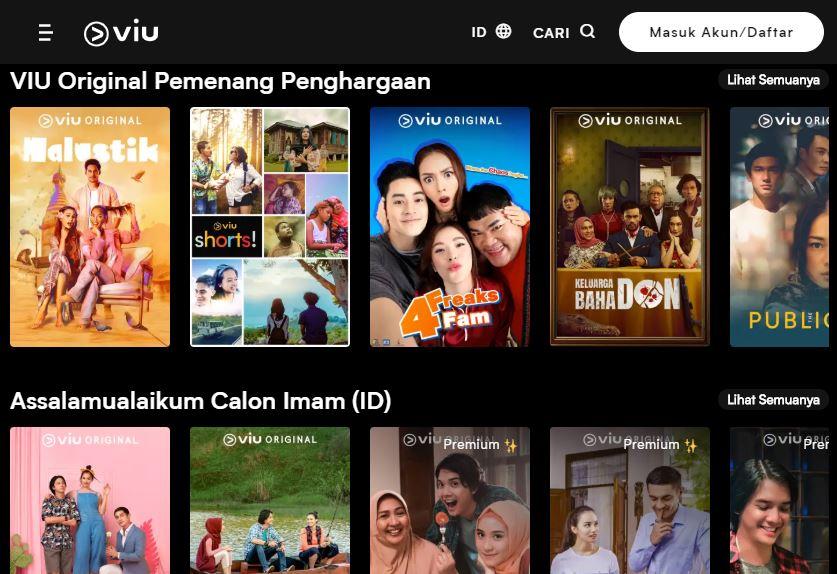 Aplikasi Streaming Film Terbaik