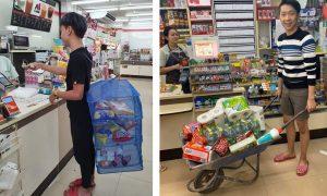 Kelakuan Kocak Warga Thailand Saat Belanja