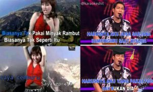 Meme Lirik Karaoke yang Bikin Ngakak