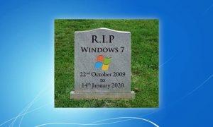 Meme Perpisahan Windows 7 yang Bikin Baper