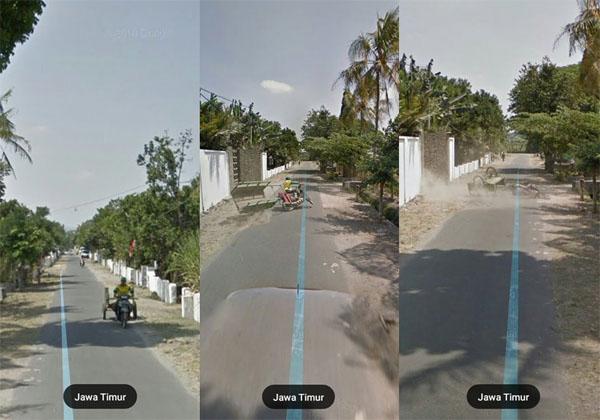 Momen Paling Kocak yang Terekam di Google Maps
