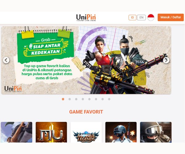 5 Website Top Up Game Termurah di Indonesia