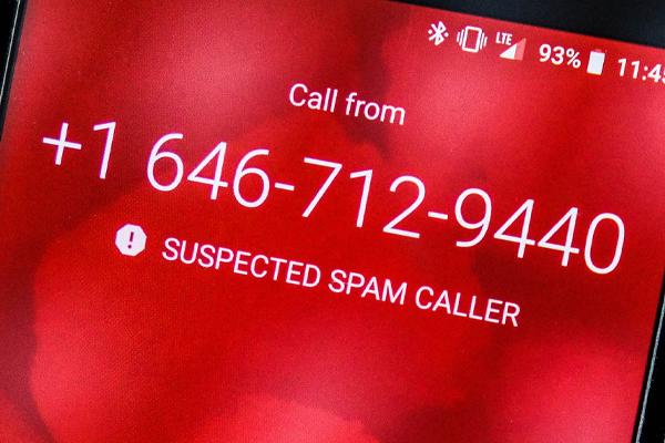 Ciri-ciri Telepon Spam