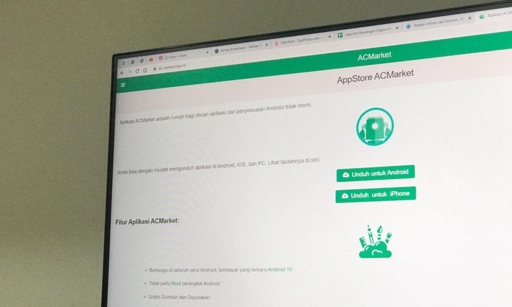 Cara Mengunduh dan Menggunakan Aplikasi ACMarket di Android